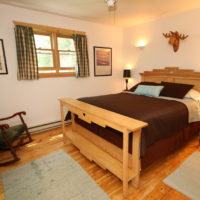Dove Cottage Bedroom. Sleeps 2 to 4 people