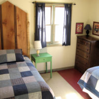 Cardinal Cottage Bedroom